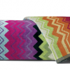 Missoni Home Giacomo #T59 Luxurious 100% Cotton Velour Bath Towel