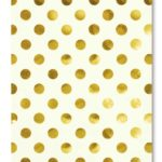 Kate Spade Gold Dots Spiral Notebook