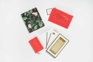 The Kate Spade Coral Desk Collection
