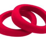 Jellystone Designs Organic Bangle Scarlet Red