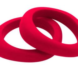 Jellystone Designs Organic Bangle Scarlet Red