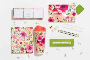 The Kate Spade Floral Desk Collection