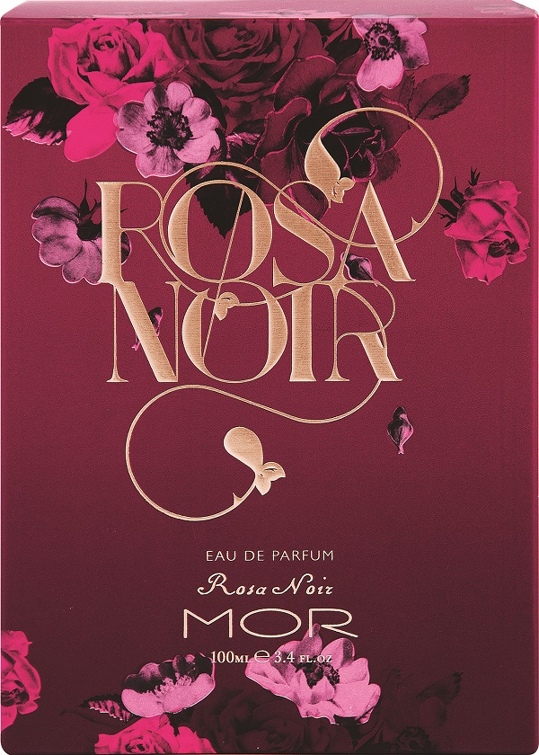 MOR Rosa Noir EDP Packaging
