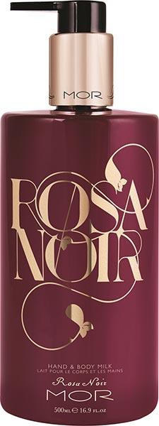 MOR Rosa Noir Hand & Body Milk