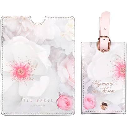Ted Baker Luggage Tag & Passport Set, Chelsea Border