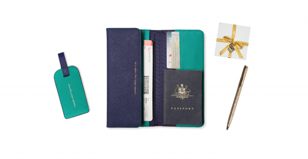 The Navy & Emerald Travel Collection   Alice Pleasance