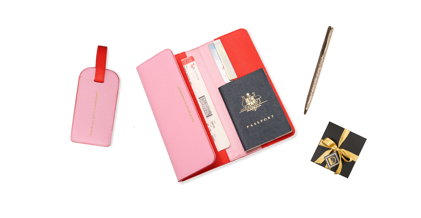 The Orange & Pink Travel Collection | Christmas Gift Guide | Alice Pleasance