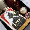 Gold Valentine's Gift Box