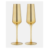 Aurora Gold Champagne Glass 2 Pack
